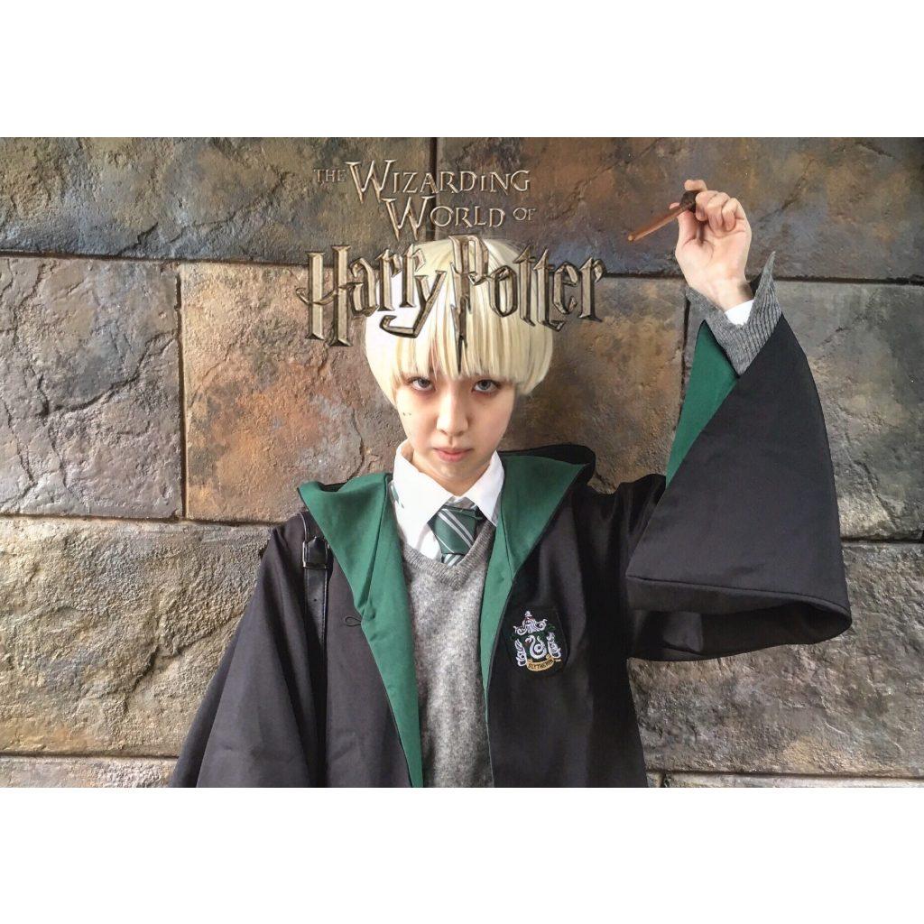 今年の仮装は #ハリーポッター でお馴染みの #マルフォイ を #USJ で♥ 準備したアイテムもリストアップ! #HarryPotter #DracoMalfoy