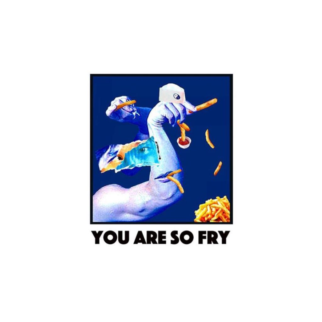 "NOW ONLINE♥ YOU ARE SO ""FRY""な #ロンT を作ったぜ!メンズも着れます。 #受注販売 #31日まで"