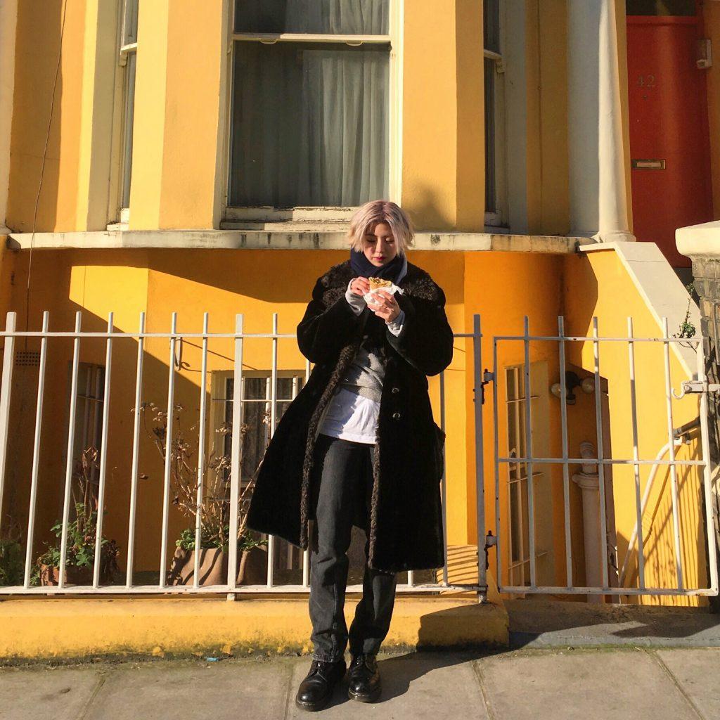 I'M IN #LONDON NOW! 早速 #ノッティングヒルの恋人 のロケ地である #NottingHill に行ってきたよ♡ #ミリ旅