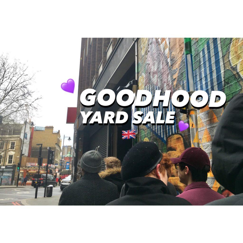 #ロンドン 購入品BLOG♡PART.2 ーLONDONのファッショニスタが勧める #GOODHOOD のYARD SALEが最高だった話ー