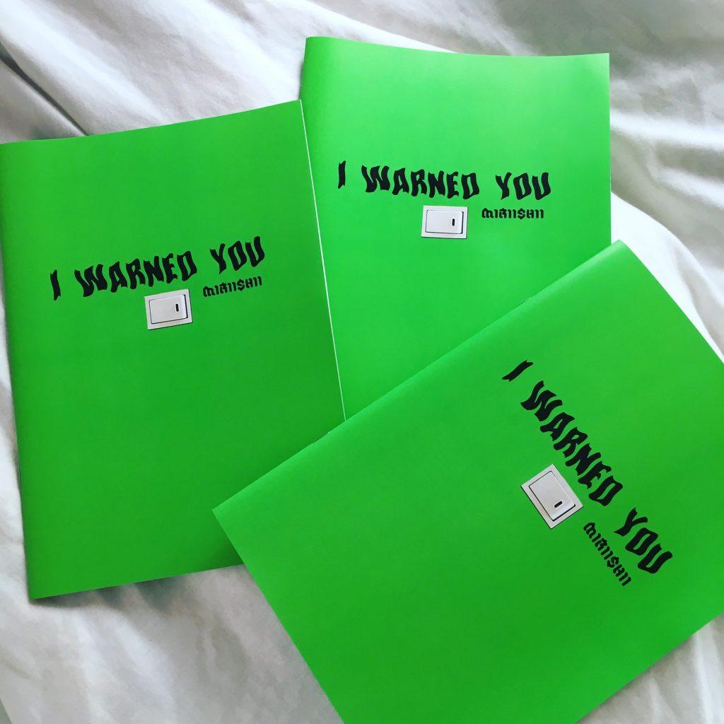 """マストチェック♡ 代官山 #蔦屋書店 で、私のCOLLAGE ZINE """"I WARNED YOU""""が購入できるようになりました! #ARTWORK #miriishii"""
