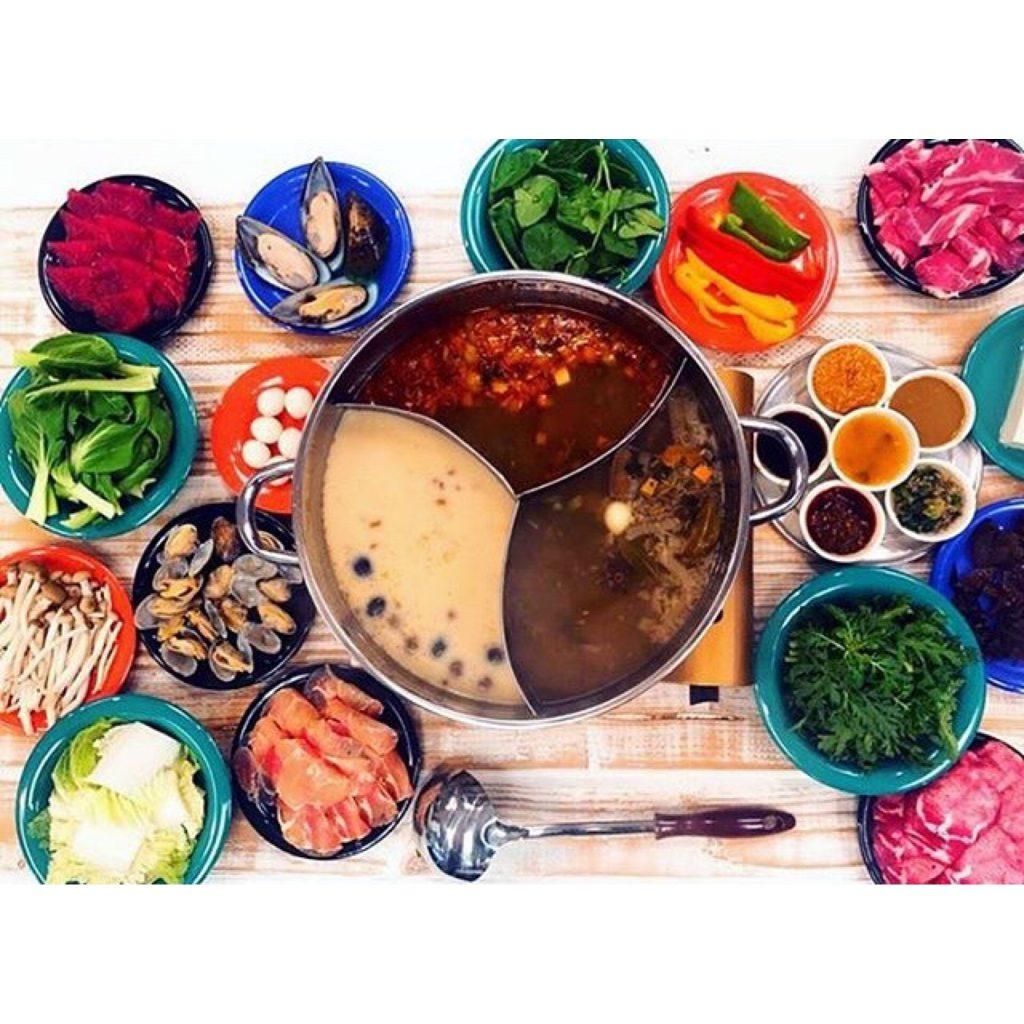 週1で通いたい #火鍋 がリーズナブルかつ最強に美味しく食べれる店を紹介します♡ #HAWAII #SweetHomeCafe