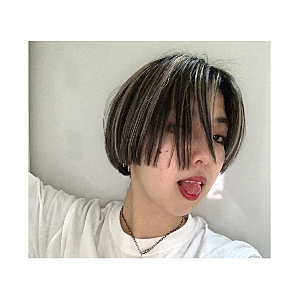 #NEWHAIR : コントラスト強めのハイライトカラーのススメ♡ #haircolor #DaB