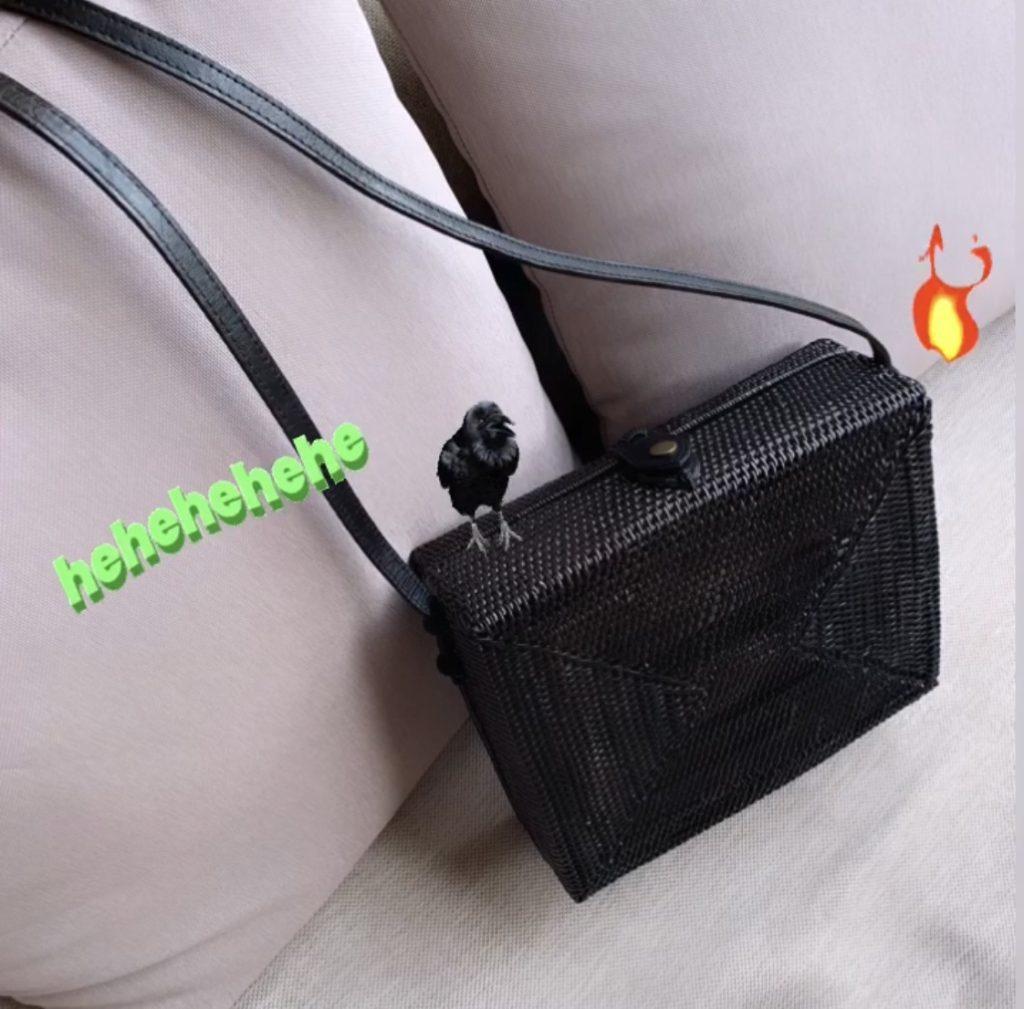 上質な #かごバッグ を手に入れたければココ!ーNYLONISTA向けストリート系コーデと合わせる時のコツ◎ー #BALI #ASHITABA