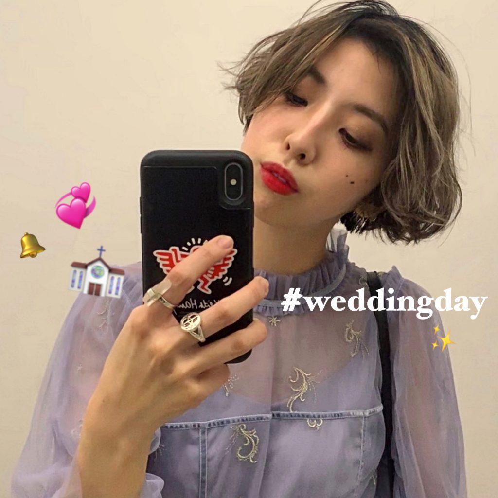 冬や春の入り口の肌寒いシーズン、 #結婚式 のオススメコーディネート♡ #OOTD4NYLONJP #WEDDINGDAY