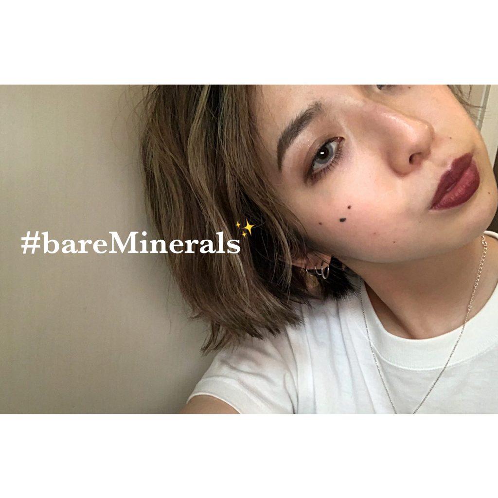 落ちなくて荒れない…しかもミネラルコスメとは思えない脅威の発色♡これ1本でオシャレな顔を演出できます。 #bareMinerals