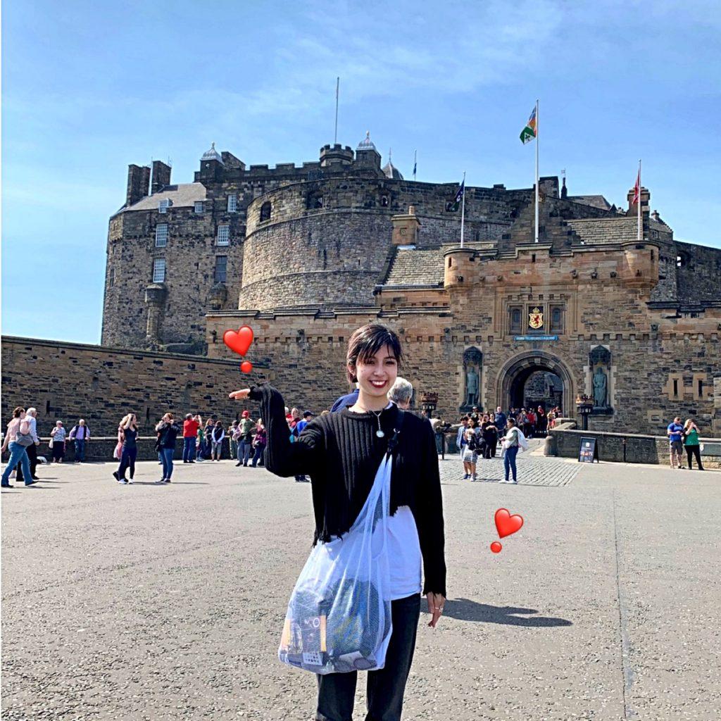 #HarryPotter の #Hogwarts のモデルの1つとされている #エディンバラ城 に実際に行ってみた! #Scotland #Edinburgh