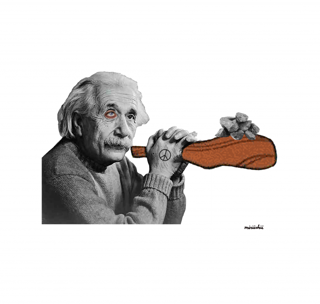 アインシュタインの予言から考えられることと、私たちにできること。 #Collage #AlbertEinstein