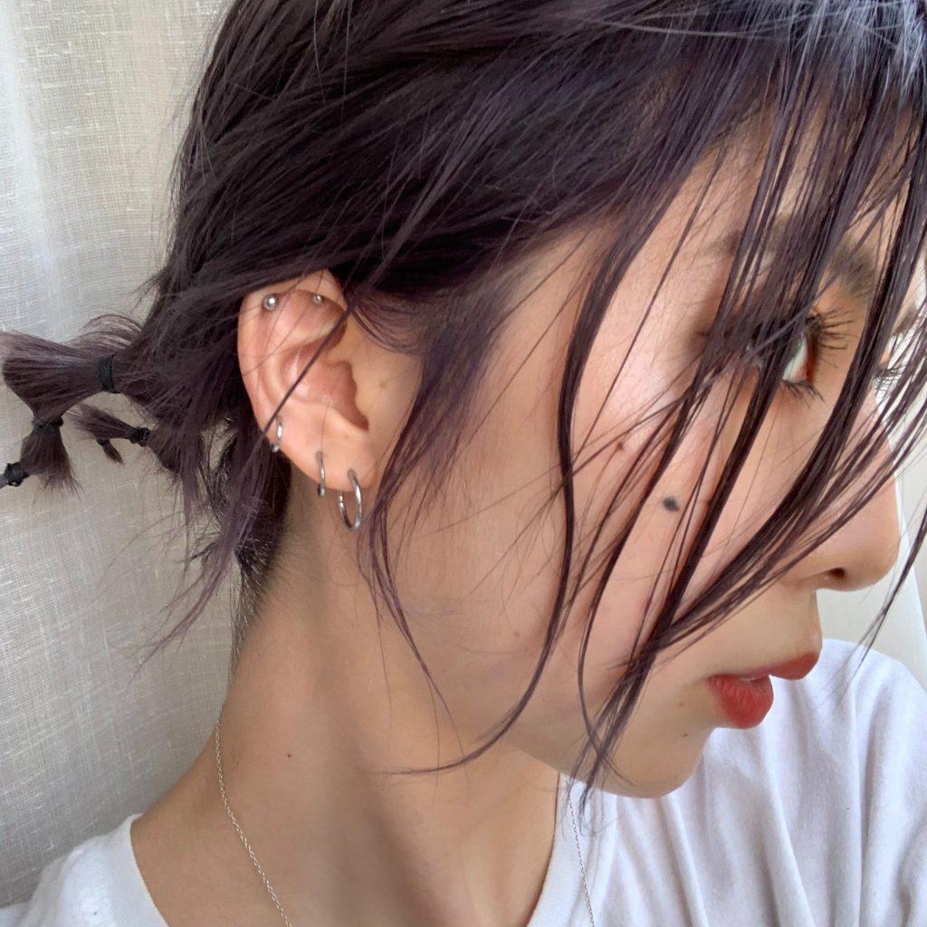 派手髪経験者、回り回って色落ちが1番綺麗なカラーに落ち着く説。 ー失敗しないオススメの髪色ー #HAIRCOLOR