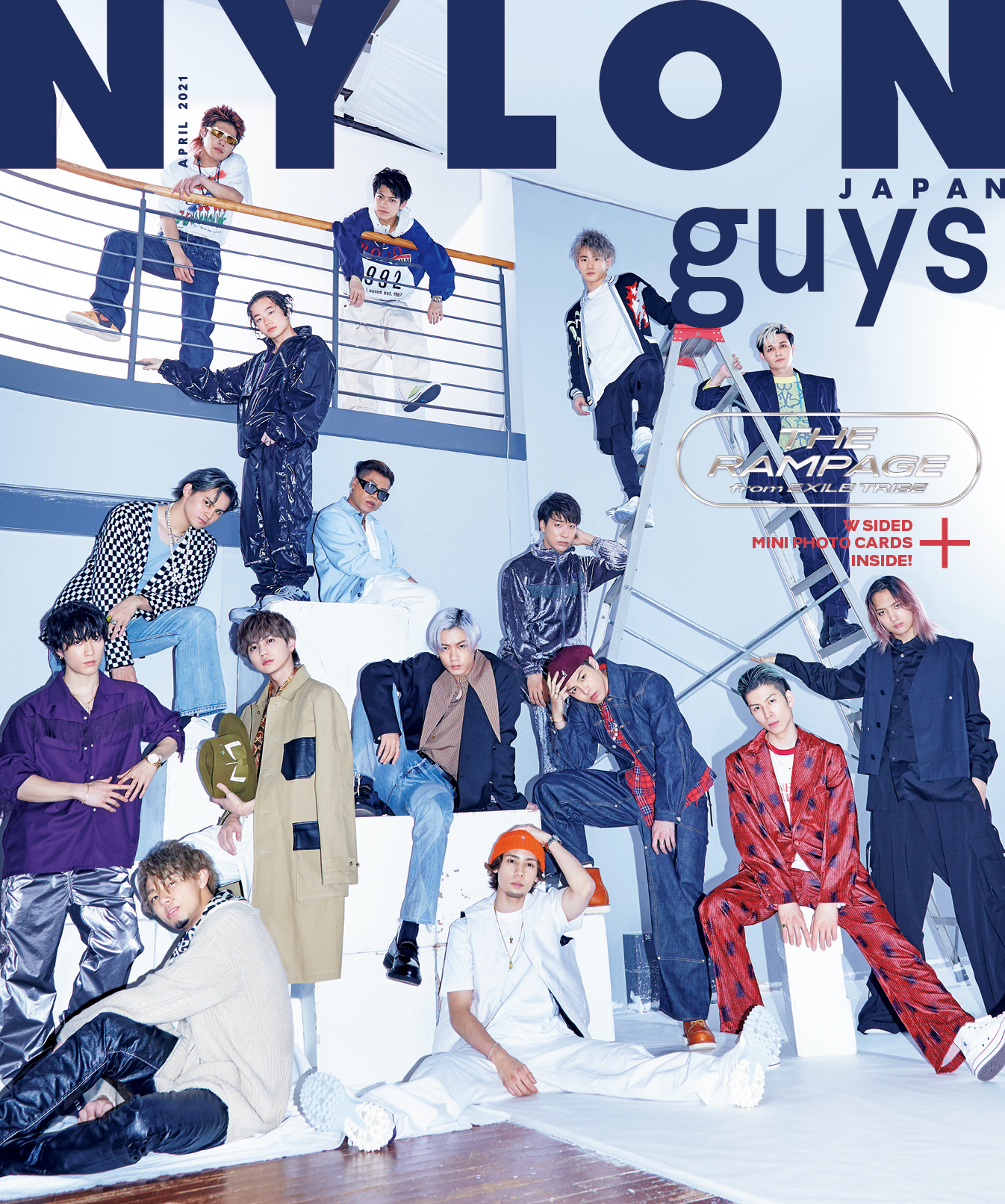 NYLON JAPAN 4月号 THE RAMPAGE from EXILE TRIBE