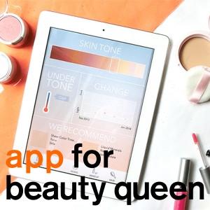 コスメ選びに役立つパーソナルカラー診断アプリ「Beautiful Me」