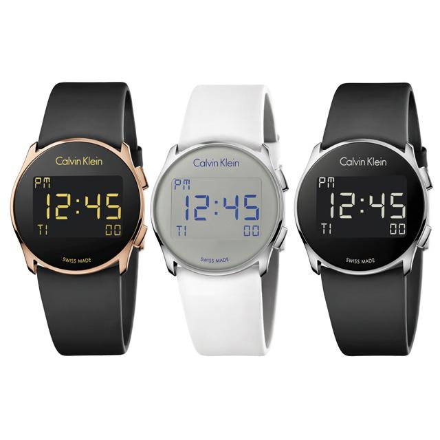 Calvin Klein watchesからファッショナブルで機能的なデジタルウォッチが登場!