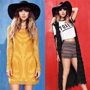 FOXESが着こなすH&Mのニューコレクションがかわいい!