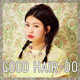 GOOD HAIR-DO : VO5ヘアスプレイでNYLONブロガーズのkawaiiヘアをメイク