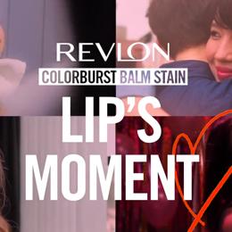 REVLON lip's moments いつでもどこでも♡ レブロンの恋に効くクレヨンリップ