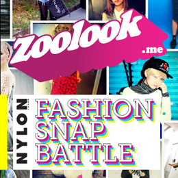 ZOOLOOK × NYLON.JP FASHION SNAP BATTLEをプレイバック!