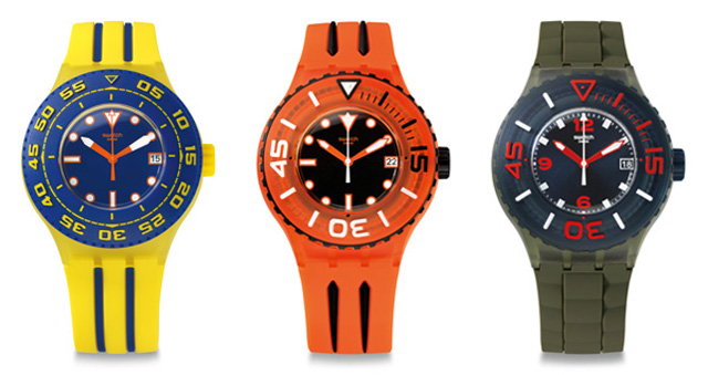 10年ぶりの復刻スクーバ「Swatch Scuba Libre」Launch Party!!!