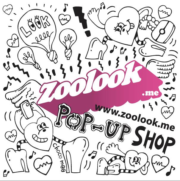 8月1日ラフォーレ原宿でスタート! 16のショップとブロガーがスナップアプリ発信『ZOOLOOK POP-UP SHOP』