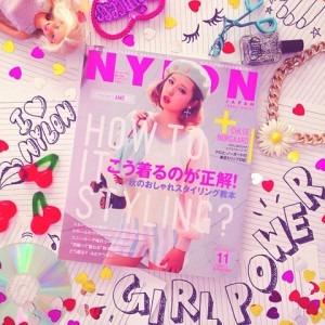 "NYLON JAPAN11月号×ナイロニスタの""#mynylonjp""結果発表!"