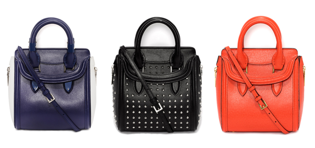 ひと足お先に、春モード♪ Alexander McQueenからS/S新作バッグ登場。