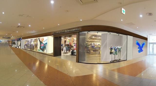 本日、AMERICAN EAGLE OUTFITTERSの関西第2号店が兵庫にグランドオープン!