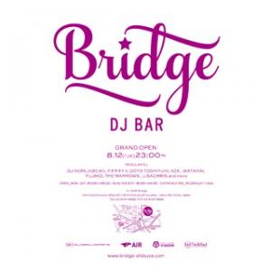 """東京ナイトライフの新名所""""DJ BAR Bridge"""""""