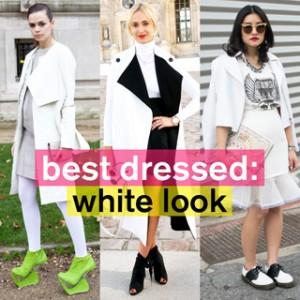 冬のファッションは白なしでは楽しめない! ホワイトスタイル特集