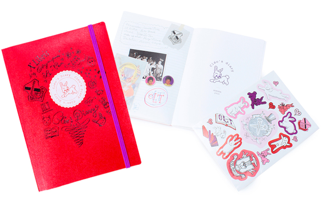 乙女心をくすぐるEx-Libris by Olympia Le-Tanのうさぎダイアリー