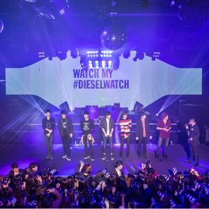 K-POPグループのInfiniteも登場!<br />DIESEL TIMEFRAMESのエクスクルーシヴなパーティ