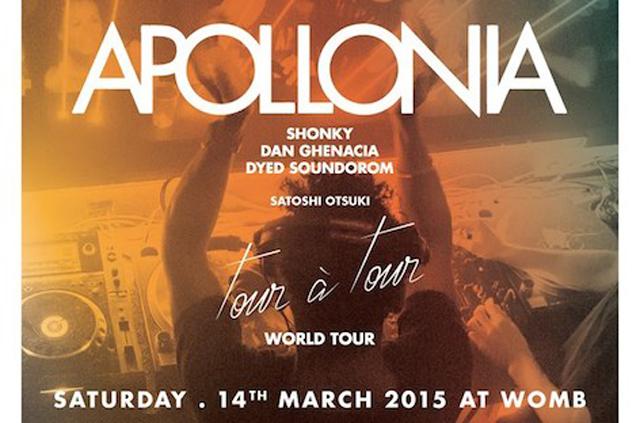 パリのスーパーDJトリオ、APOLLONIAが3/14に初来日! @渋谷WOMB