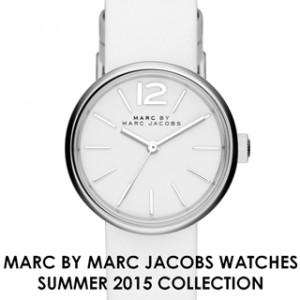 ブラック&ホワイトなMARC BY MARC JACOBS WATCHES 2015 サマーコレクション!