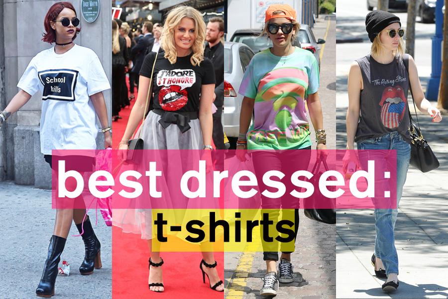 夏スタイルのキーアイテム! Tシャツスタイル特集