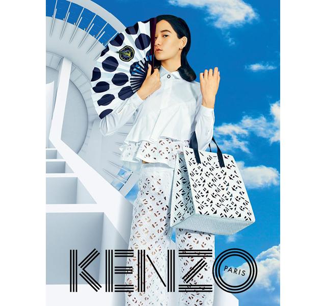 KENZO バッグとアクセサリーの期間限定ショップが伊勢丹にオープン!