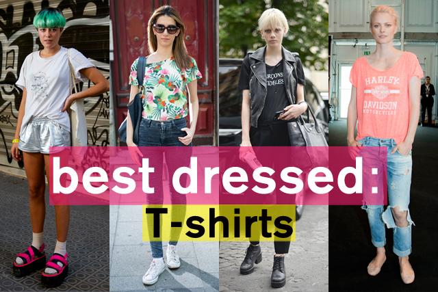 スタイリングで差がつく! プリントTシャツスタイル特集