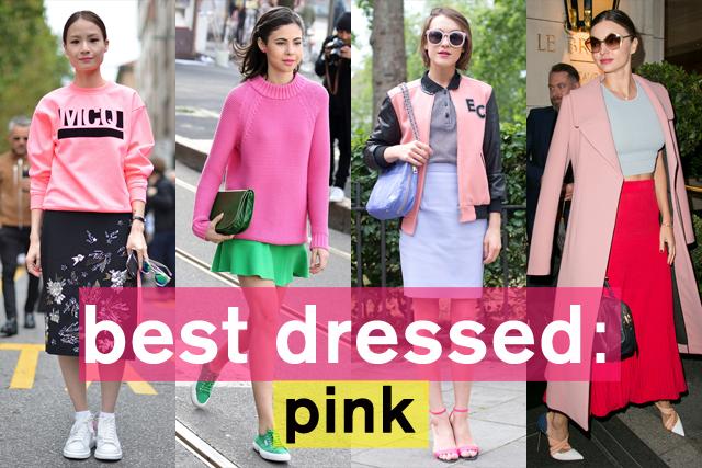 センスが問われる! ピンクスタイル特集