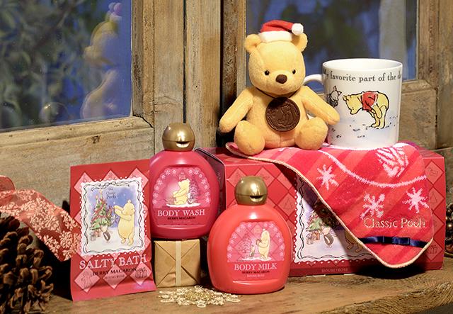 """自分へのご褒美や友達のプレゼントに! """"クラシック プー""""デザインのクリスマスギフトはいかが?"""