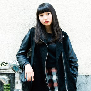 meets our nylonista 青木珠菜