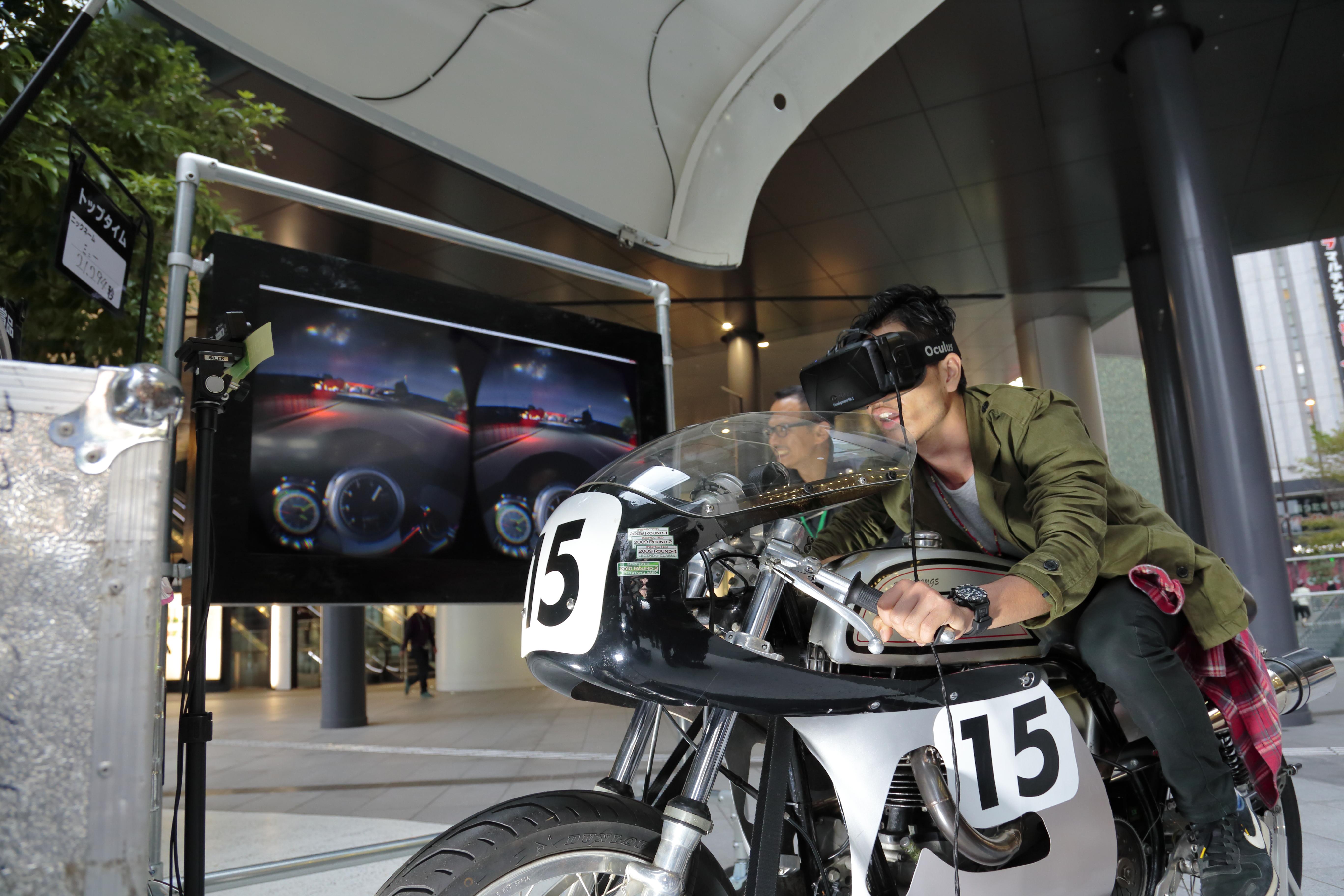 60'sロンドンを体感! DIESEL TIMEFRAMESのバーチャルバイクレースイベントが見逃せない