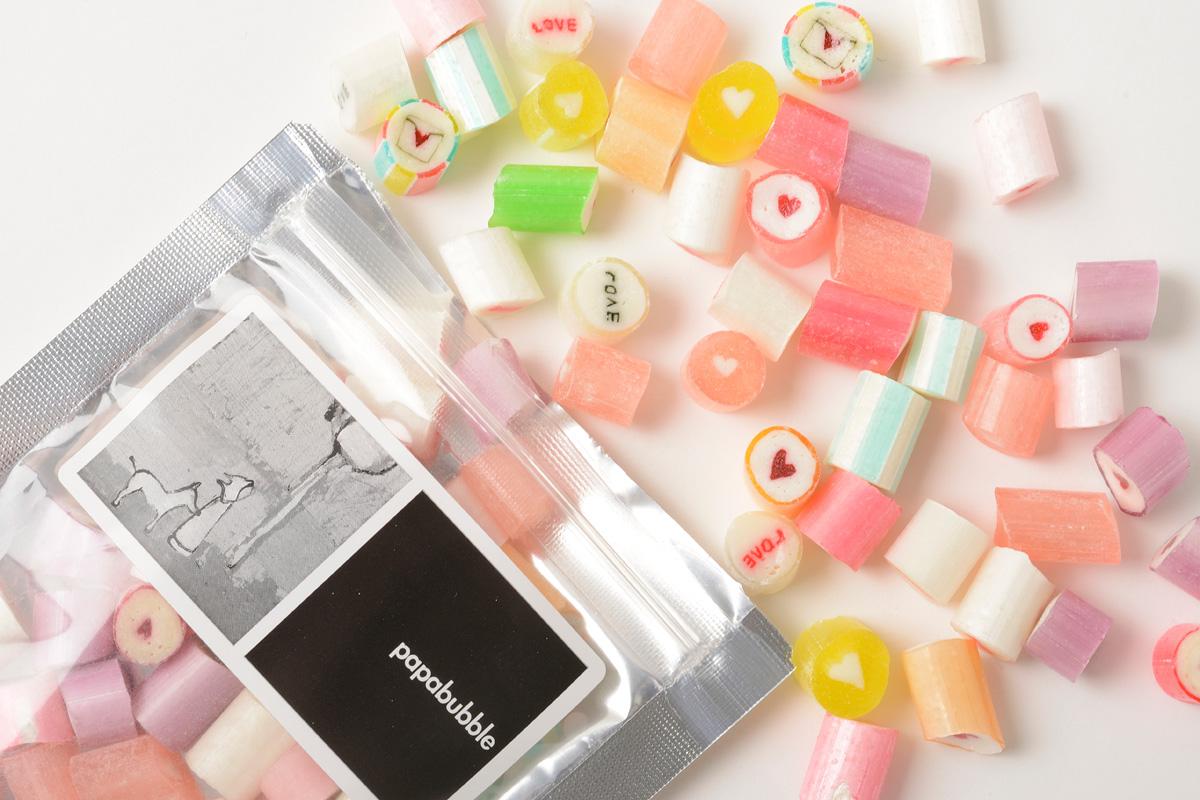 バレンタインギフトの新定番! Papabubbleのフルーツキャンディ