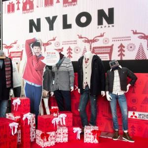 NYLON×OLD NAVY ハッピーな空間で魅せるホリデーコレクション