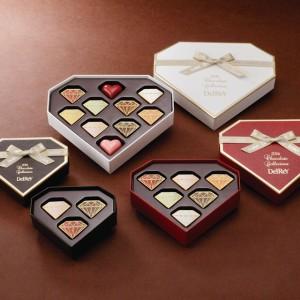 食べるジュエリー、デルレイのダイヤモンドショコラで永遠の愛を結んじゃう?