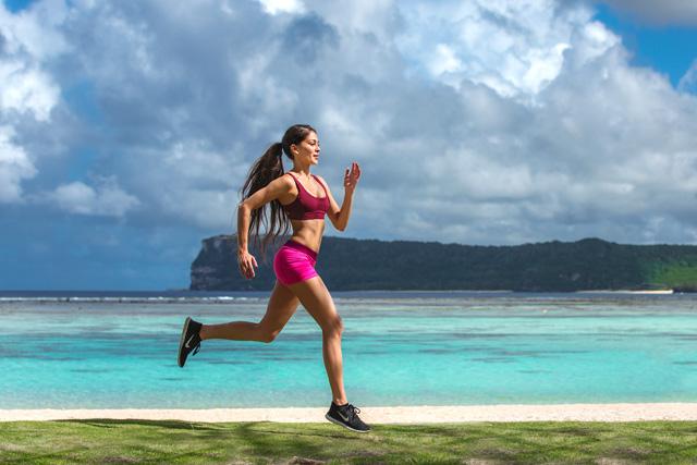 スポーツガール必見! 春真っ盛りのグアムでマラソンイベントが開催