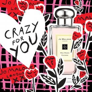 バレンタインのために生まれた香り 『レッドローズ』で想いを伝えて