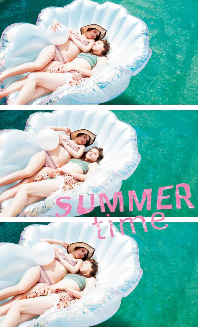 #夏、VOLCOMのビーチウェアで過ごす