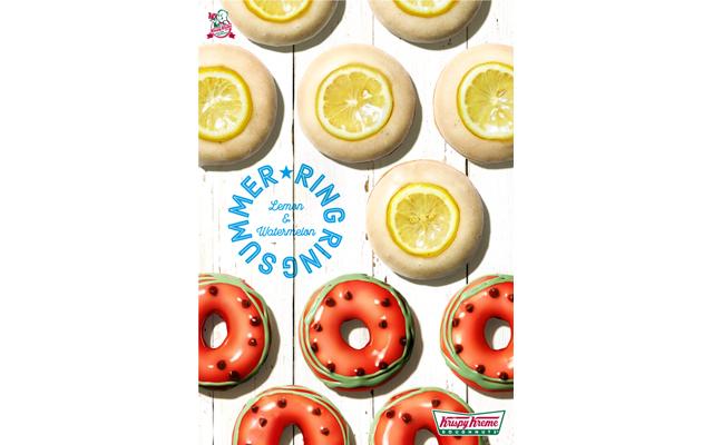 カラフルな見た目がキュート♡ 『スイカ』&『レモン グレーズド』が登場。