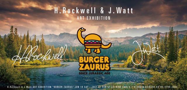 架空のハンバーガー屋さんが出現⁉︎ 『BURGER ZAURUS』に注目!