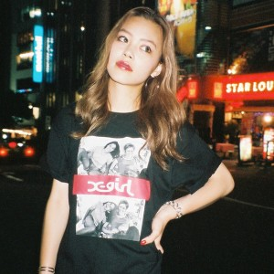 X-girl × Larry Clark meets Nylonista snap : maria