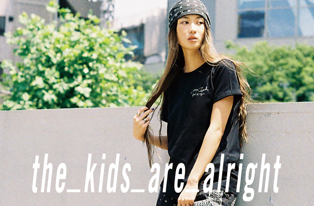 X-girl × Larry Clark meets Nylonista snap : miho