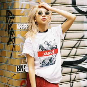 X-girl × Larry Clark meets Nylonista snap : yua
