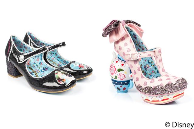 足もとをファンシーに演出 イレギュラー・チョイスのアリス・イン・ワンダーランドコレクション